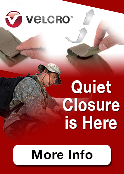 Velcro Unidrectional Quiet Closure Hook and Loop